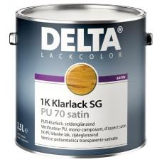 DELTA-KLARLACK PU70 SATIN .AF-0,75 L